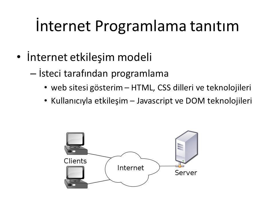 Temel Yazılım İnternet/web progamlama, programlamanın bir türüdür ve bu nedenle pratik becerleri ve çok pratik gerekiyor Bu dersin yapısı: – (BİR)AZ TEORY...