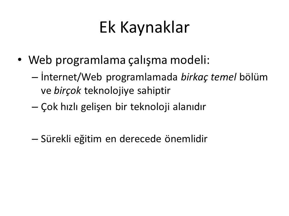 Web Sayfasına ilk bakış Örnek sayfa İnternetten indirelim ve source code ye bakalım...