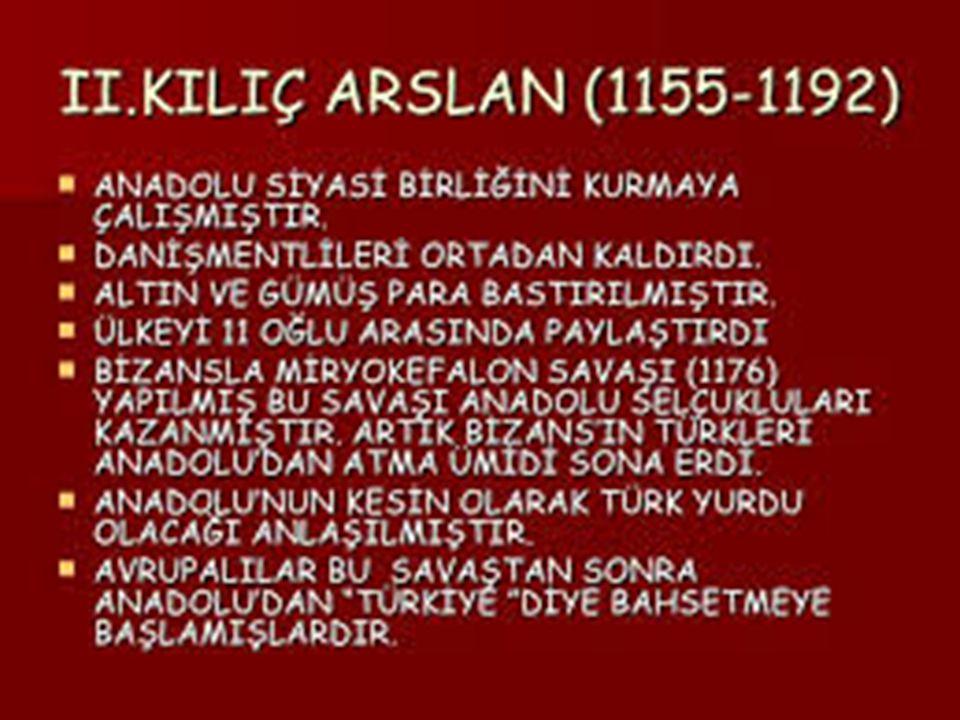 1048 PASİNLER SAVAŞI BİZANS –B.SELÇUKLU ÖNEMİ=ANADOLUNUN KAPILARININ ARALANMASI 1071 MALAZGİRT SAVAŞI BİZANS B.SELÇUKLU ÖNEMİ=ANADOLUNUN KAPILARININ AÇILMASI 1176 MİRYOKEFALON SAVAŞI A.SELÇUKLU-BİZANS ÖNEMİ=ANADOLUNUN TAPUSUNUN ALINMASI