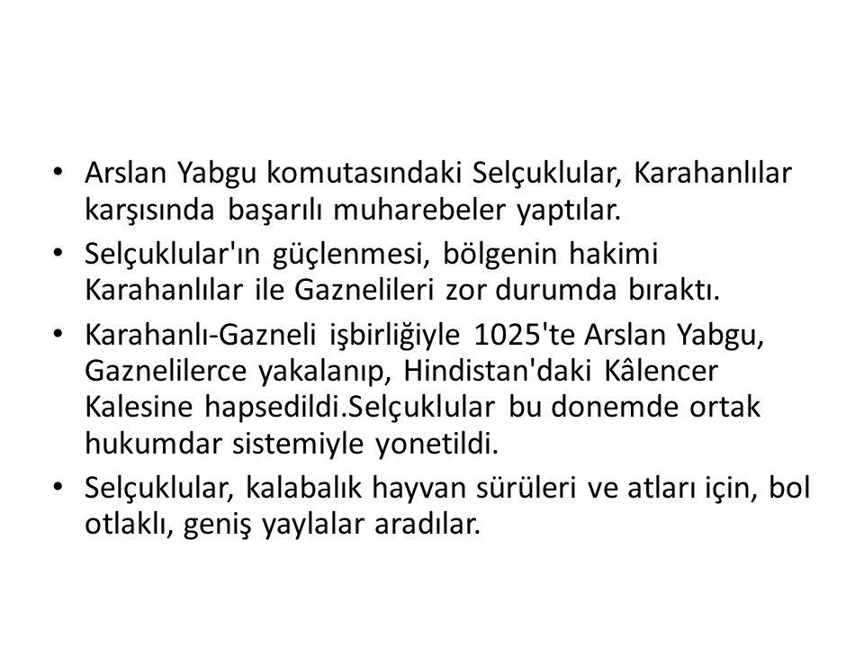 Çağrı Bey, Gazneli mukavemet mevkilerini aşarak, Doğu Anadolu sınırlarına kadar gitti.
