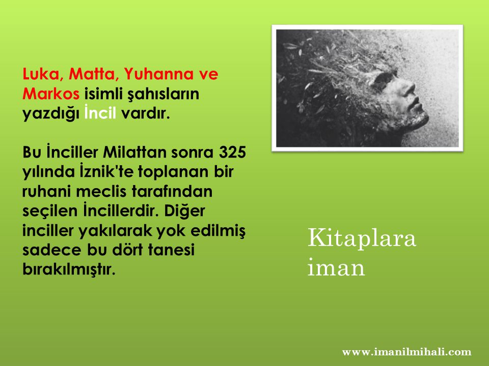 Kuran-ı Kerim; Kuran-ı kerim Allah tan Peygamberimize indirildiği gibi korunmuş ve ondan da bize tevatür yoluyla gelmiştir.