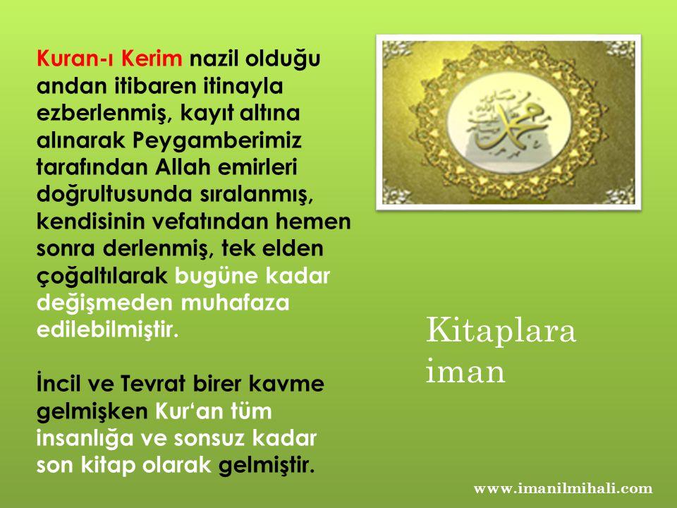 Kuran-ı Kerim in Özellikleri; 1.Kur an, Peygamberimize vahyedilmiştir.