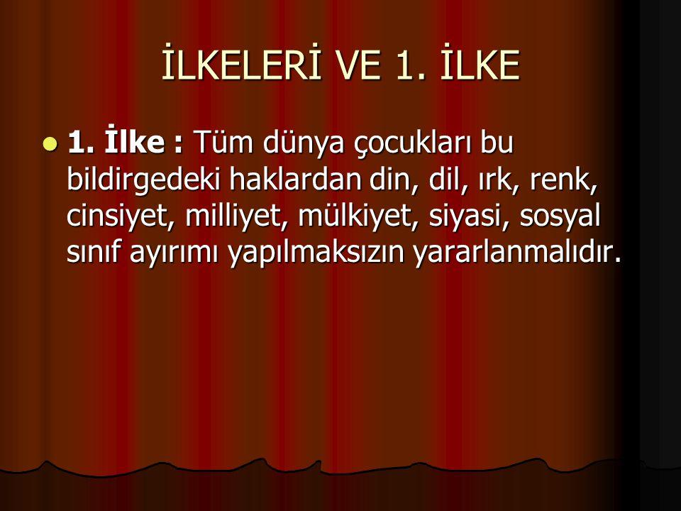 2.İLKE 2.