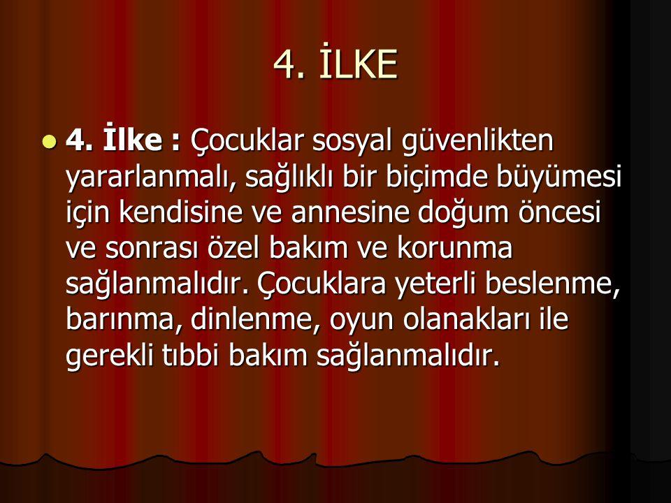 5.İLKE 5.