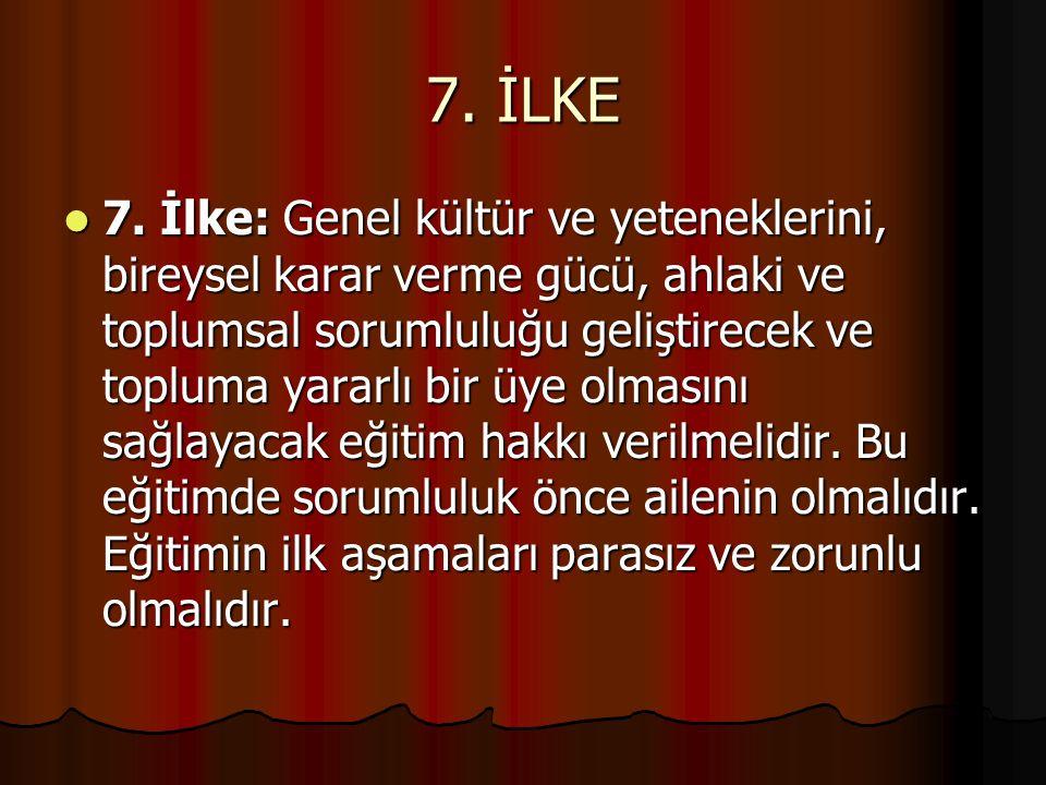 8.İLKE 8.
