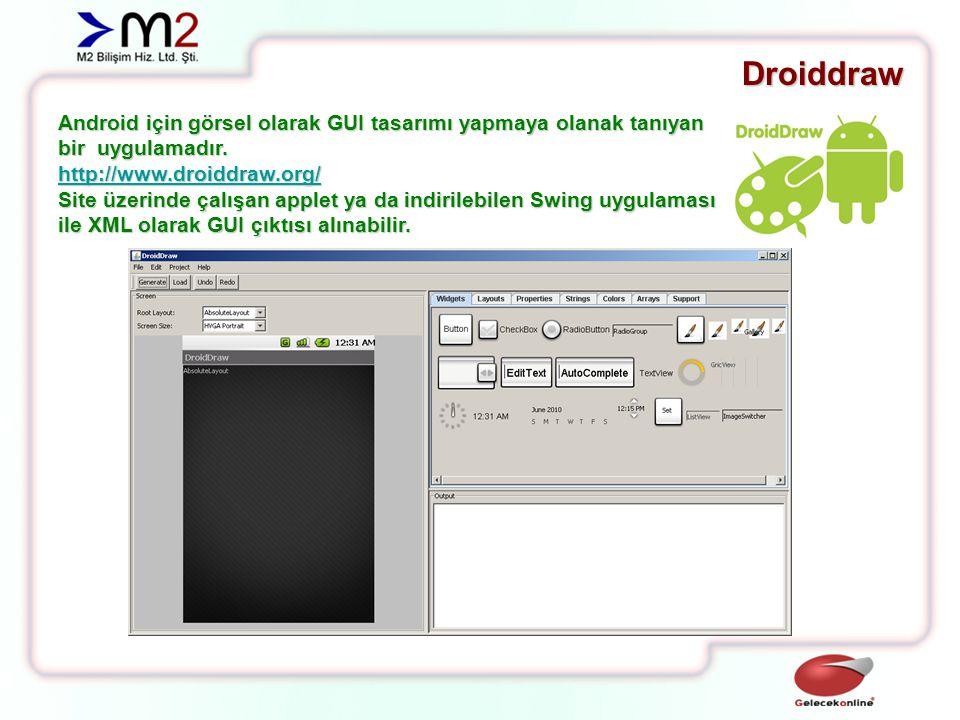 Motodev Studio Motorola tarafından Android geliştiricileri için çıkarılmış harika bir IDE'dir.