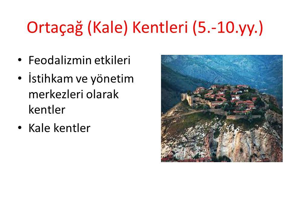 Ortaçağ Kentleri Akdeniz çevresinde İslam Kenti'nin yükselişi Ticaretin yeniden önem kazanması (10.