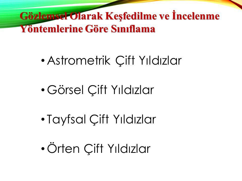ASTROMETRİK ÇİFT YıLDıZLAR Teleskopla sadece bileşenlerden biri görünür.