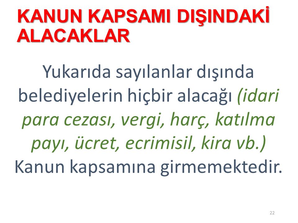 2014 YILI EMLAK VERGİSİ VE ÇTV'NİN DURUMU 23  2014 yılı emlak vergisi, vadesi 30 Nisan 2014'ten sonra olduğu için kapsama girmez.