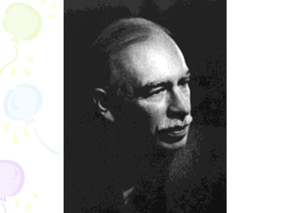 John Maynard Keynes 5 Haziran 1883 de Cambridge de doğmuştur.