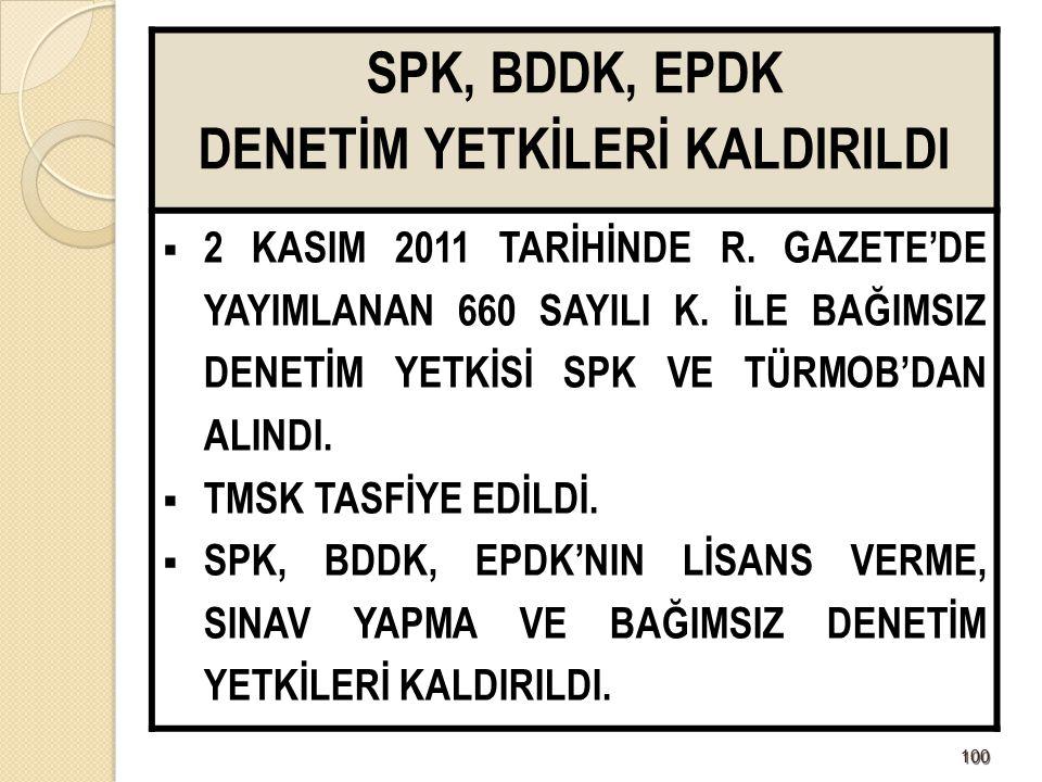 101101 DENETİM VE STANDARTLAR  Kagömdes Türkiye Muhasabe ve Denetim Standartlarını oluşturacak.