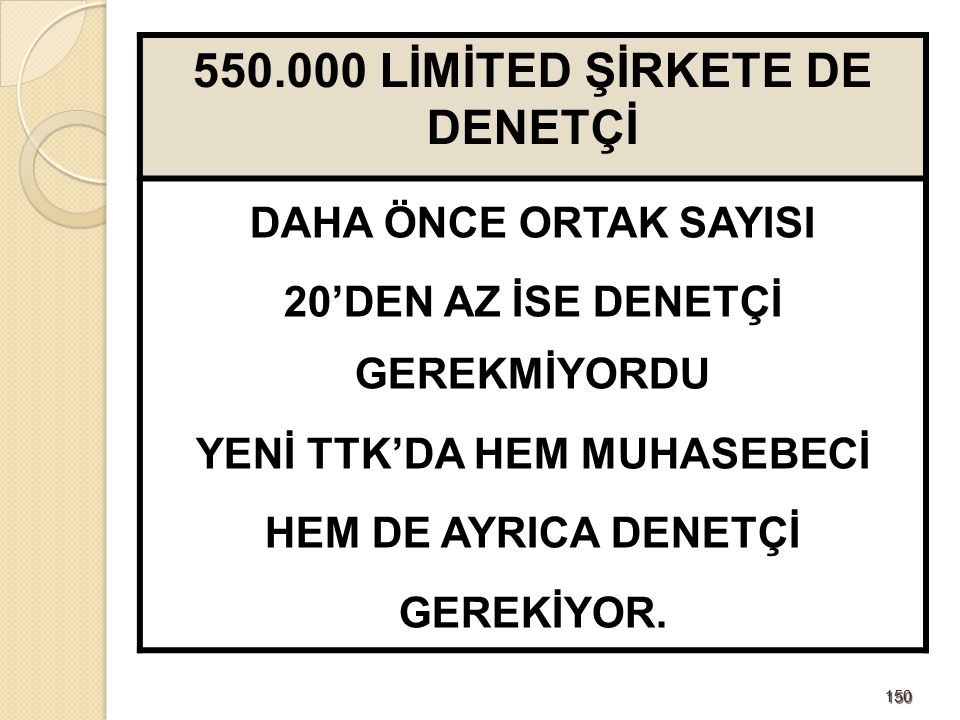 151151 DENETÇİLERİN SEÇİMİ VE GÖREVDEN ALINMASI Denetçi, Şirket genel kurulunca; Seçimden sonra, yönetim kurulu, gecikmeksizin denetleme görevini hangi denetçiye verdiğini ticaret siciline tescil ettirir ve Türkiye Ticaret Sicili Gazetesi ile internet sitesinde ilan eder.