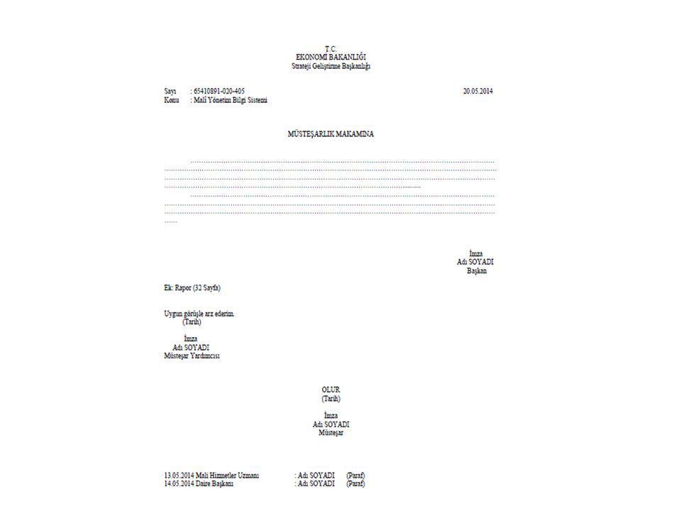 Belgenin Bölümleri Paraf Fiziksel ortamda kullanılan paraf, kaybolmayacak ve kâğıda işlemesini sağlayacak kalemle atılır.