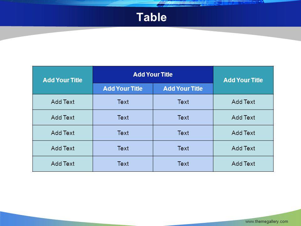 www.themegallery.com 3-D Pie Chart Text1 Text2 Text3 Text4 Text5 Text6