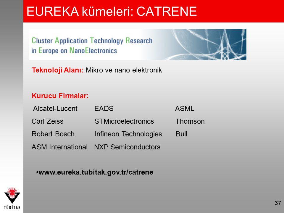 EUREKA kümeleri: Eurogia+ 38 Teknoloji Alanı: Yenilenebilir Enerji Kurucu Firmalar: Almanya EADS FUGRO IHCİtalya AKER Yards, Linde HollandaSAIPEMspa AMEC, WOOD Group IZAR, SENERFransa C.A.