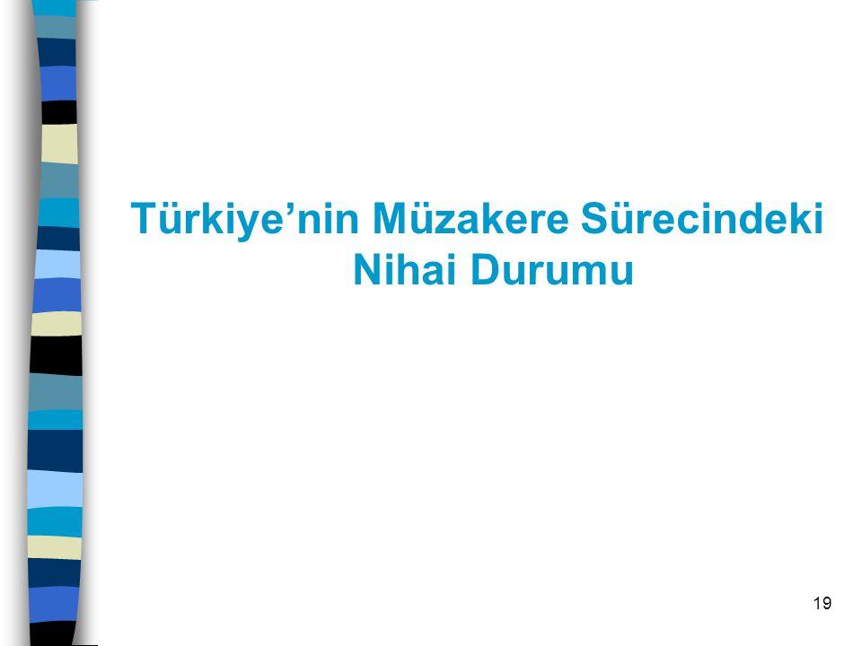 20 Katılım Müzakerelerinin Aşamaları Müzakere Kararı (17 Aralık 2004-Brüksel Zirvesi ) Hükümetlerarası Konferans (HAK-Üye Devletler ve Türkiye Dışişleri Bakanları: 3 Ekim 2005) Tarama (Avrupa Komisyonu ve Türkiye bürokratlar- Fiili Tarama 20 Ekim 2005-Bilim Araştırma) Müzakerelerin fiilen başlatılması Müzakere başlıklarının geçici ve nihai olarak kapatılması.