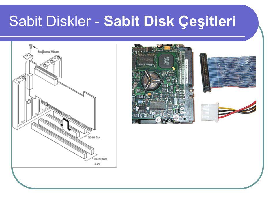 SCSI ve ATA Karşılaştırması SCSI tabanlı hard diskler, daha yüksek rpm değerlerinde üretilmektedir.