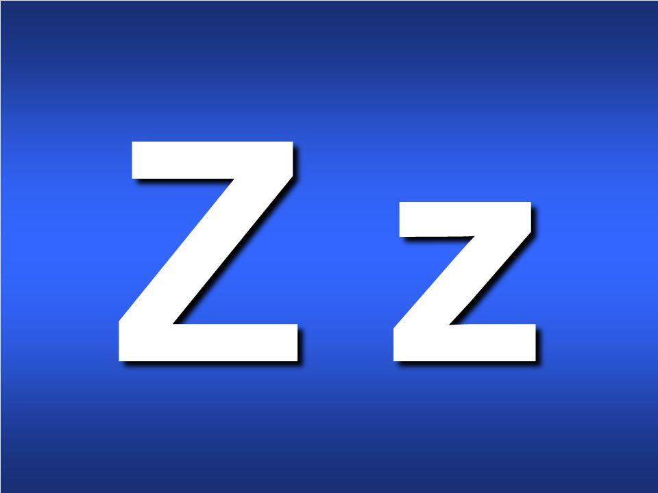 8 Z z