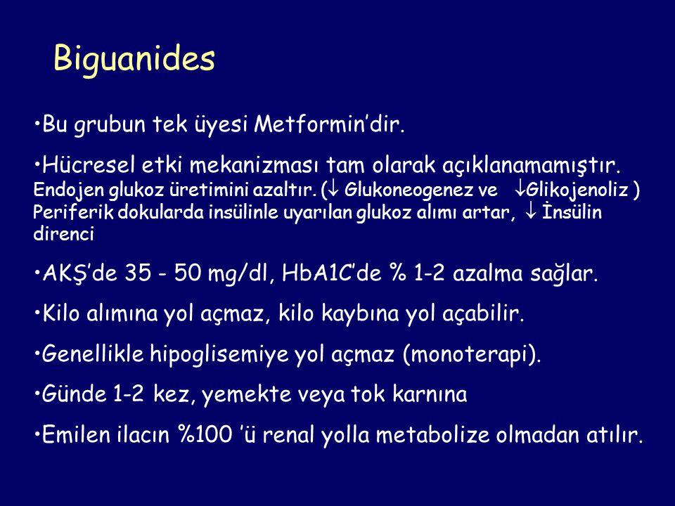 Yan Etkiler: Gastrointestinal yakınmalar.Vitamin B12 eksikliği .