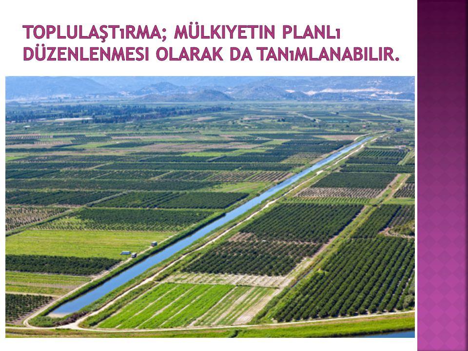  Parselin uzunluğu, şeklin düzensizliği ve uzunluk-genişlik oranı arttıkça, arazi yüzeyine oranla sınır kaybı, dolayısıyla arazi kaybı da artmaktadır.