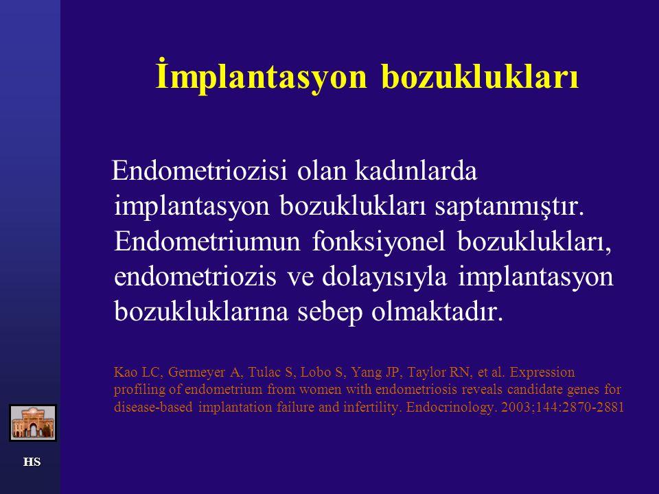 HS Randomize kontrollü çalışma Hafif endometriozis vakalarında cerrahi ablasyon etkisi araştırılmıştır.