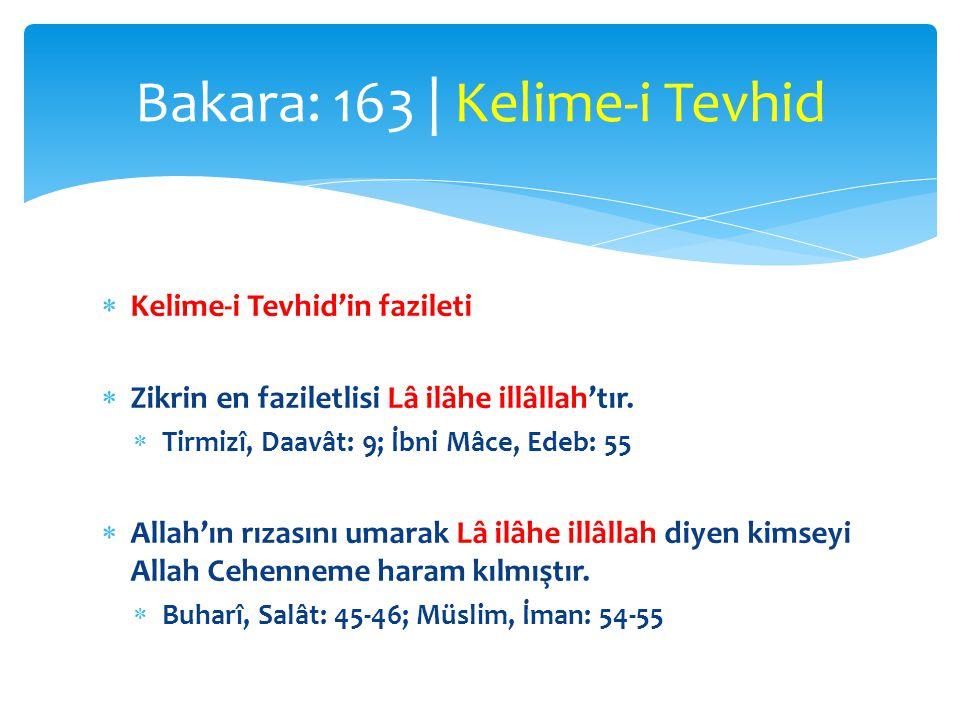  İbni Abbas (r.a.):  Resulullah (s.a.v.) kederlendiği zaman şöyle derdi:  Lâ ilâhe illâllahü'l-azîmü'l-halîm.