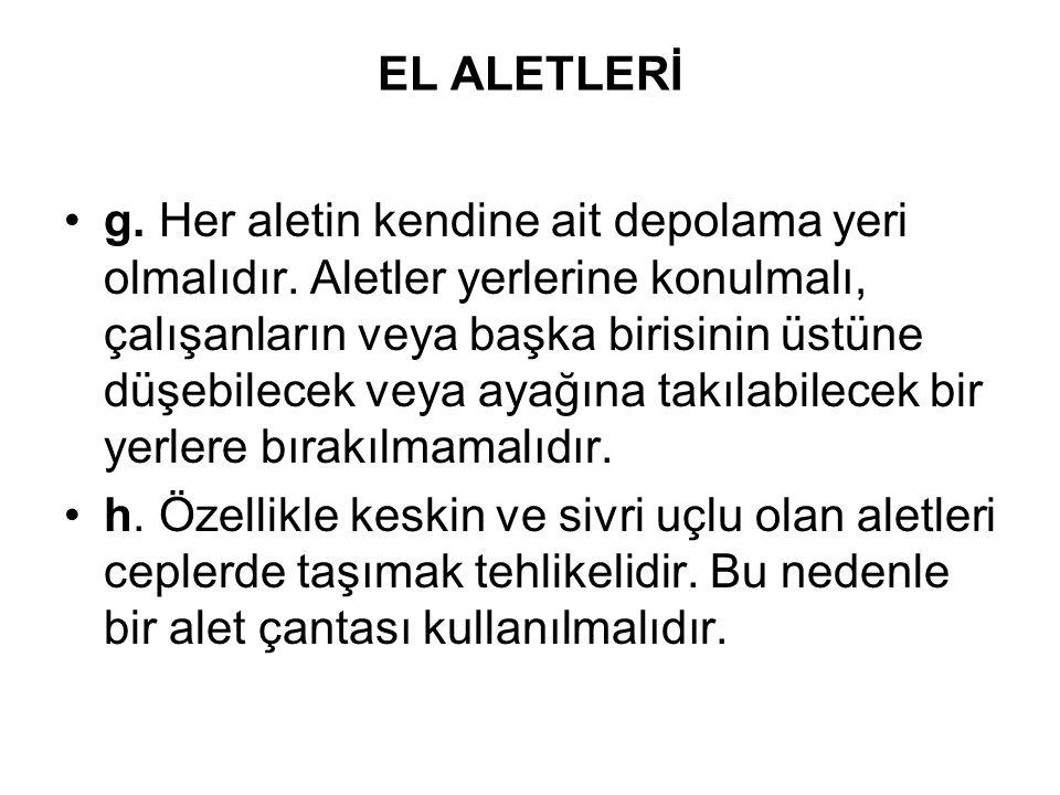 EL ALETLERİ ı.