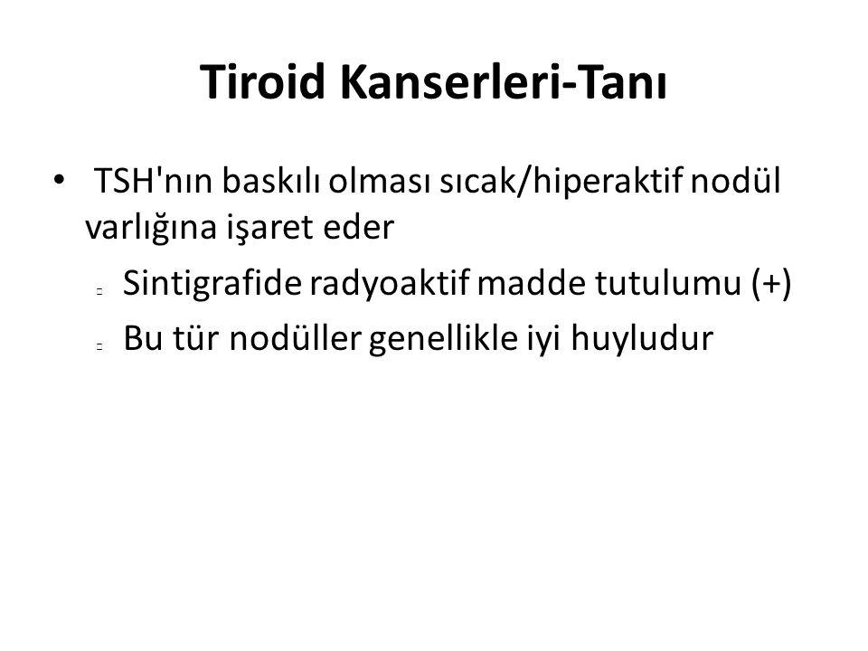 Tiroid Kanserleri-Papiller Karsinom Her yaşta görülebilir 3.-4.