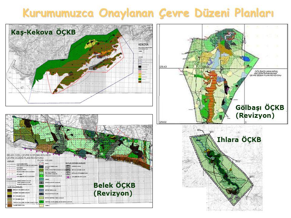 Tuz Gölü ÖÇKB Göksu Deltası ÖÇKB Kurumumuzca Onaylanan Çevre Düzeni Planları