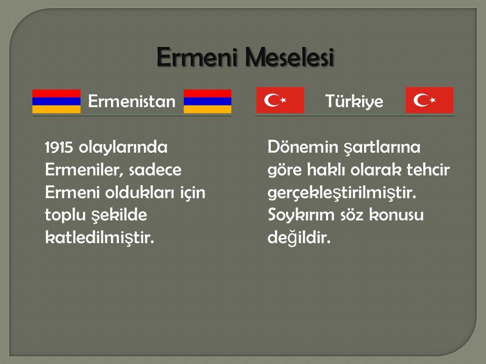 1965 yılı, Ermeni Meselesinin Dünya ve Avrupa kamuoyunda gündeme gelmeye ve yankı bulmaya ba ş ladı ğ ı bir yıl olarak kabul edilebilir.