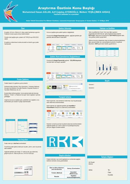 Poster ppt template