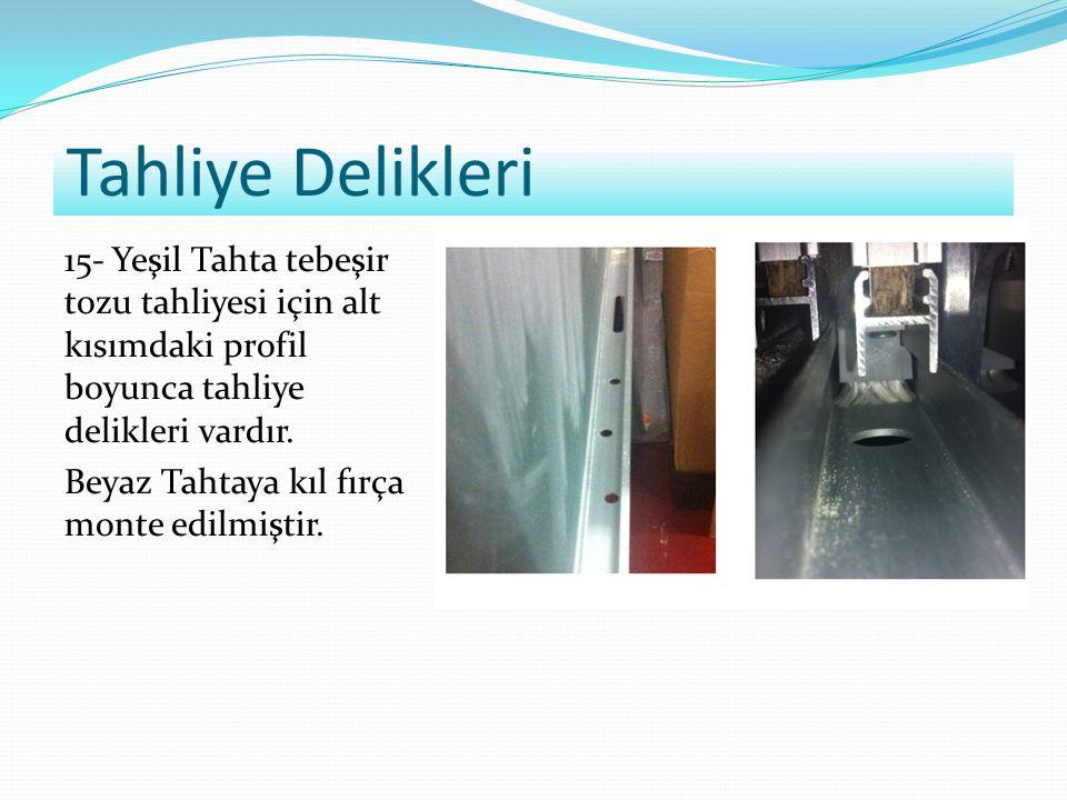 Etkileşimli Tahta Bilgisayarı Konumu (Sol/Sağ): Etkileşimli Tahta Boyutu (340/260):