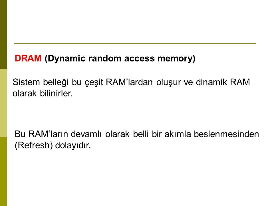 FPM DRAM (Fast page mode dynamic random access memory) DRAM çeşit bellekler ilk olarak bu isimle piyasada bulunmaya başladılar.