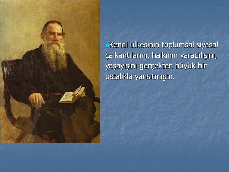 Gerçekçi edebiyatın en büyük temsilcilerinden olduğu kadar, bir filozof bir eğitimci olarak da ün kazanmıştı.