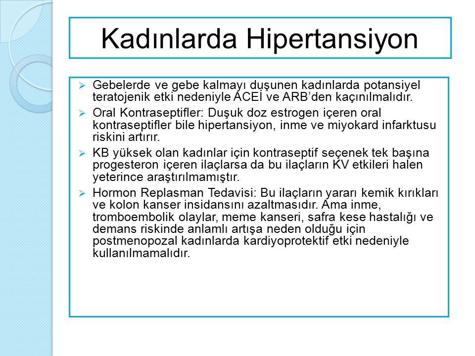  Gebelerde Hipertansiyon; ◦ Gebelerde hipertansif hastalıklar ozellikle preeklampsi neonatal ve maternal sonucları olumsuz etkiler.