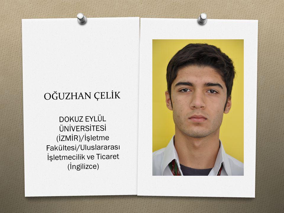 OĞUZHAN BOZKURT MEŞE NEVŞEHİR ÜNİVERSİTESİ/Turizm Fakültesi/Turizm İşletmeciliği