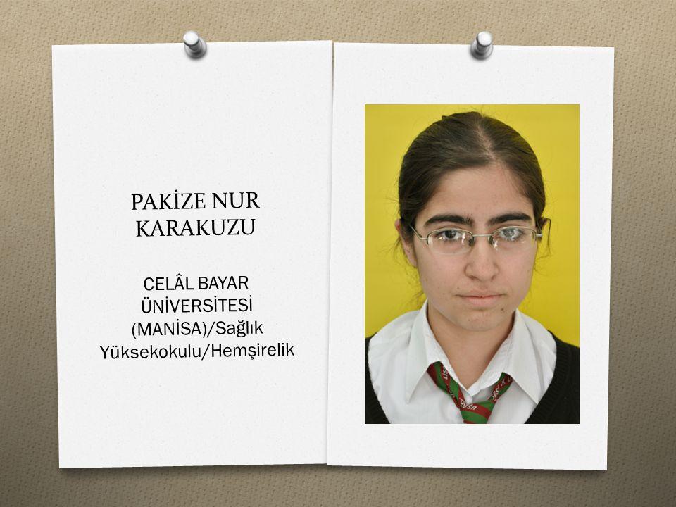 PERİHAN ÖZDEMİR GAZİANTEP ÜNİVERSİTESİ/Gaziantep Eğitim Fakültesi/İngilizce Öğretmenliği