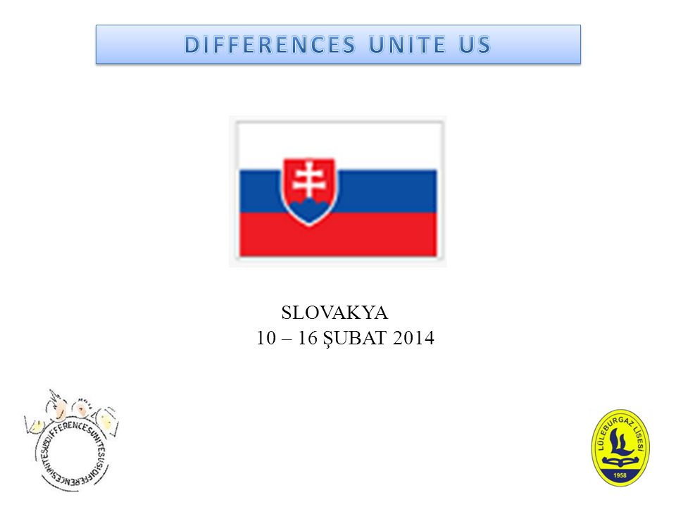 Slovakya hareketliliğinde 5 ortak ülkenin öğrencileri uluslar arası takımlar halinde : 1- M.