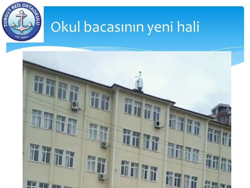  Okulun iç ve dış güvenliğinin sağlanması amacıyla güvenlik elemanı alındı.