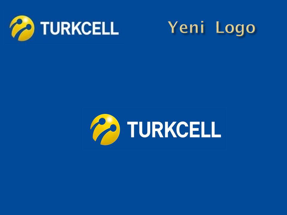Turkcell logosundaki mavi renk güvenilirlik ve sağlamlık mesajı içerir.
