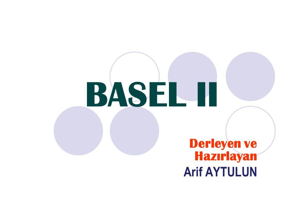 1974'de BIS bünyesinde, İsviçre'nin Basel şehrinde Basel Komitesi kuruldu.Banka risklerinin SERMAYE YETERLİLİĞİ ne dayalı olarak değerlendirme sistemi yolu ile tespiti yolu ile yapılması.