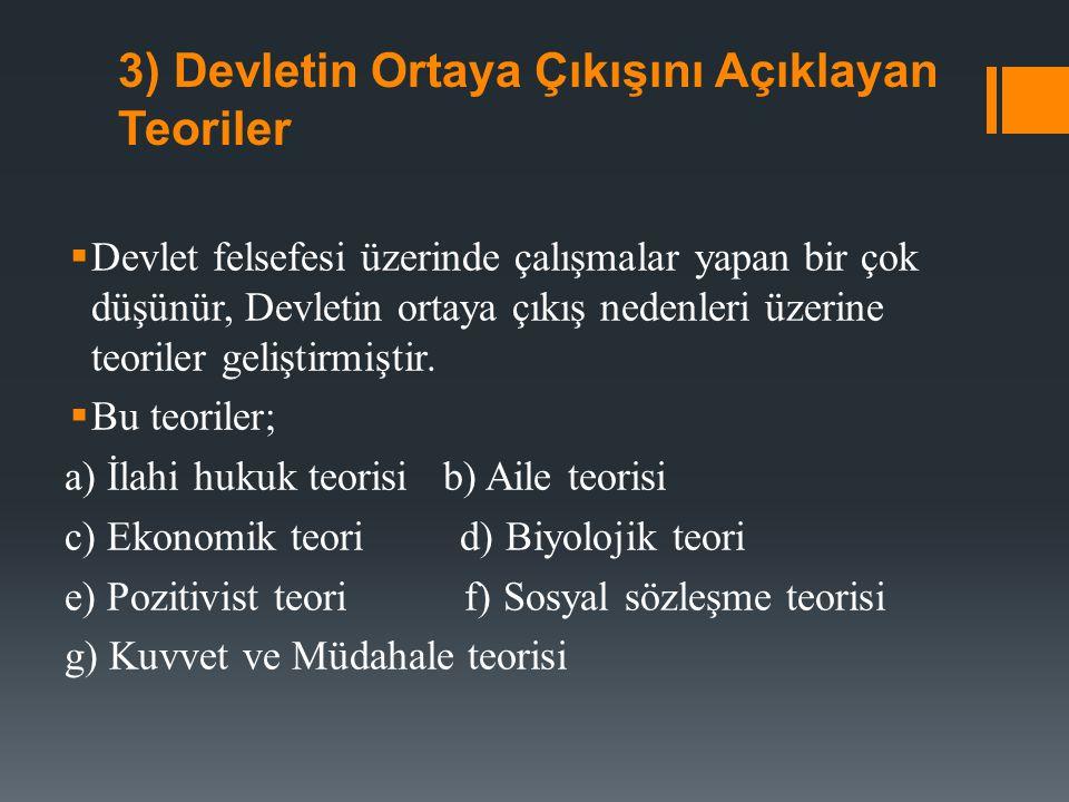 II) KAMU TÜZEL KİŞİLİĞİ ANLAYIŞININ DOĞUŞU 1)Anayasa ve Tüzel Kişilik Kavramı Anayasanın ilk üç maddesine baktığımızda, ''egemenlik'' Türk Milleti denilen ve bu ülkede yaşayan insanların bütünüdür.