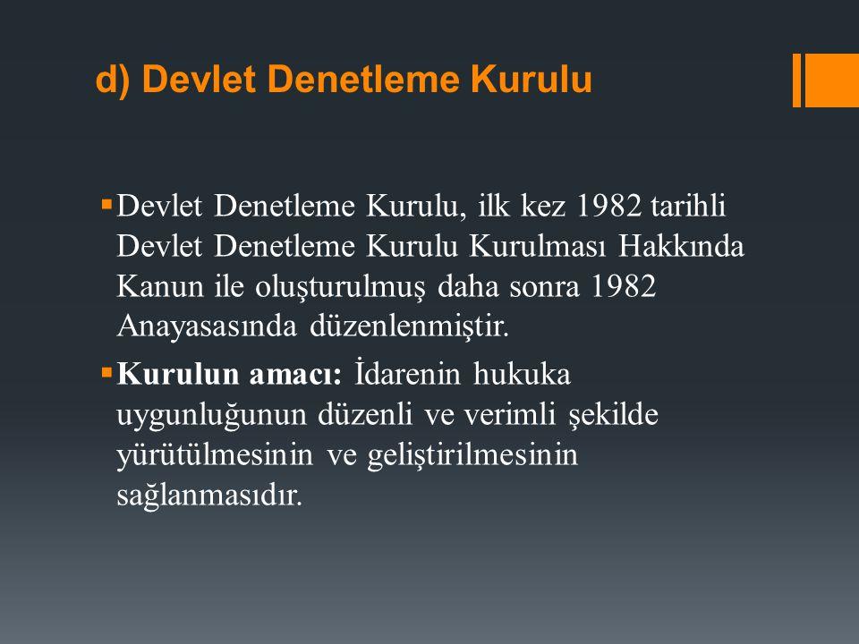  Kurulun oluşumu: DDK dokuz üyeden oluşur.