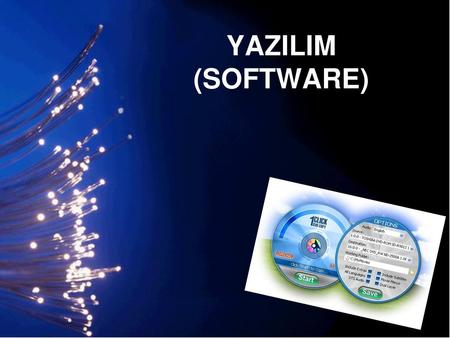 YAZILIM (SOFTWARE).