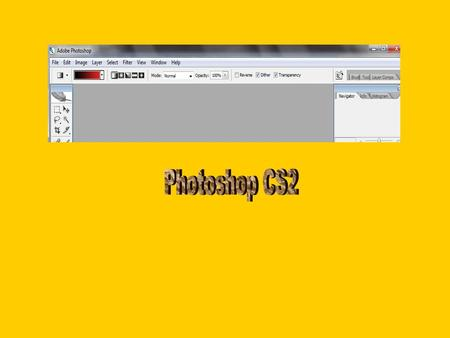 Photoshop CS2.