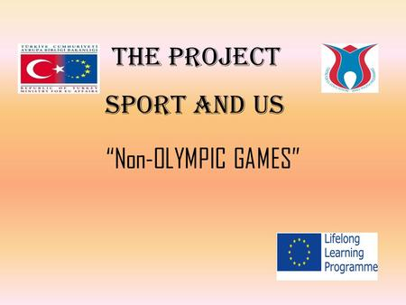"THE PROJECT SPORT AND US ""Non-OLYMPIC GAMES"". OPEN THE DOOR, HEAD MERCHANT."