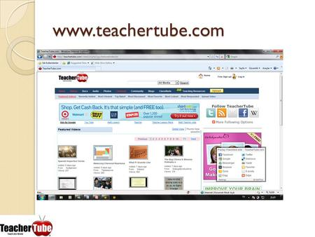 Www.teachertube.com.