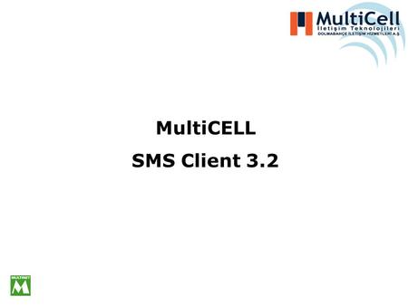 MultiCELL SMS Client 3.2.
