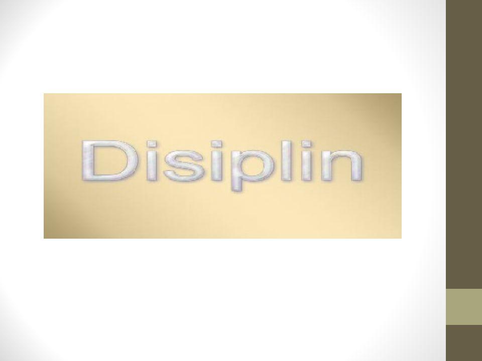 Disiplin Nedir.
