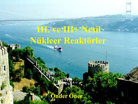 1 Nuclear Power Program of Turkey Turkish Electricity Autority (TEK) was the state own company responsible for construction and operation of the Nuclear.